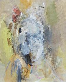 若手美術作家・寿司みどり個展『破裂』 人物の精神性と身体性を、メタイメージとして提示する