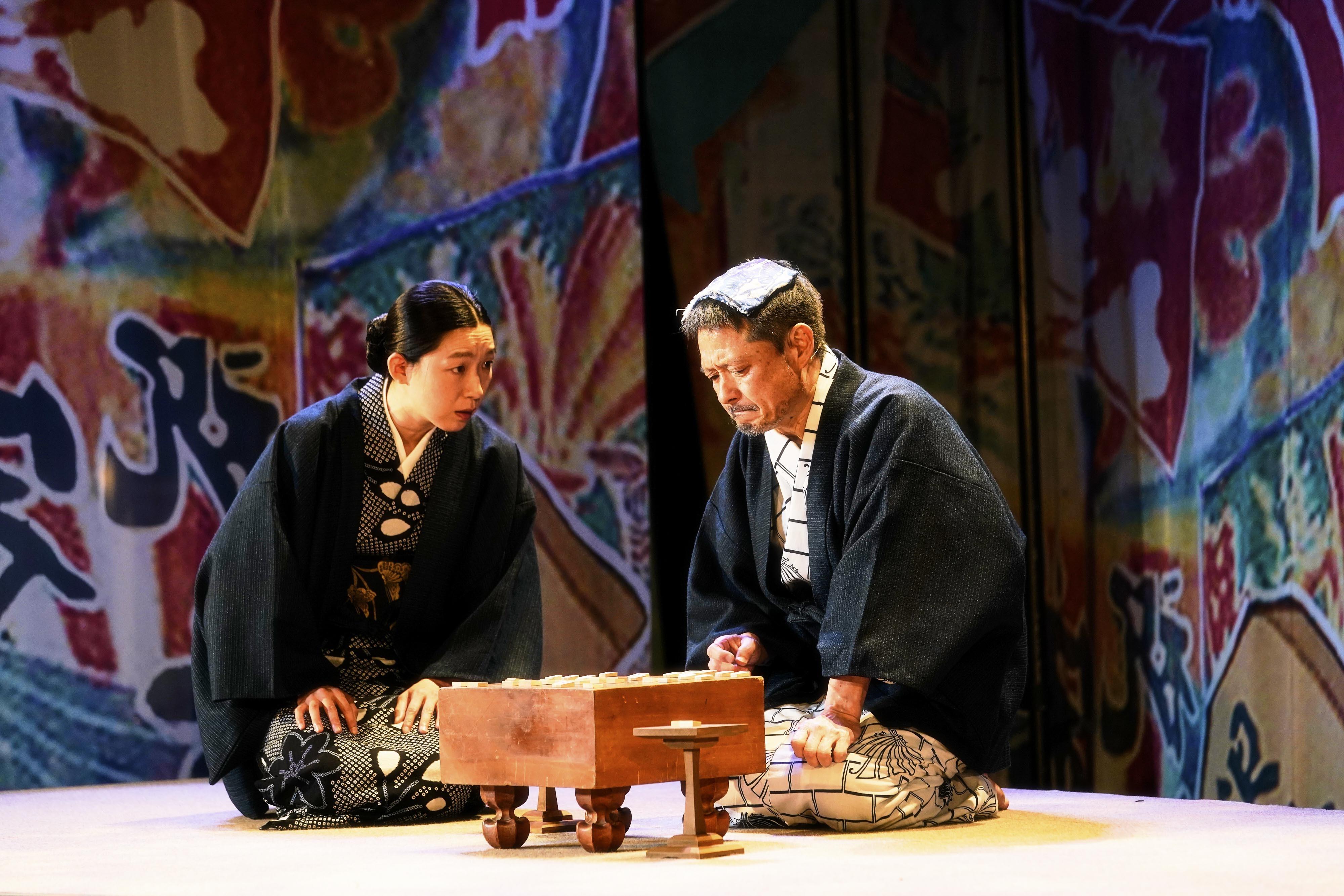 (左から) 江口のりこ、福田転球 撮影:細野晋司