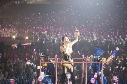 浜崎あゆみ史上最多の60公演全国ツアーが横浜アリーナで開幕 あゆらしい豪華な演出で会場を魅了