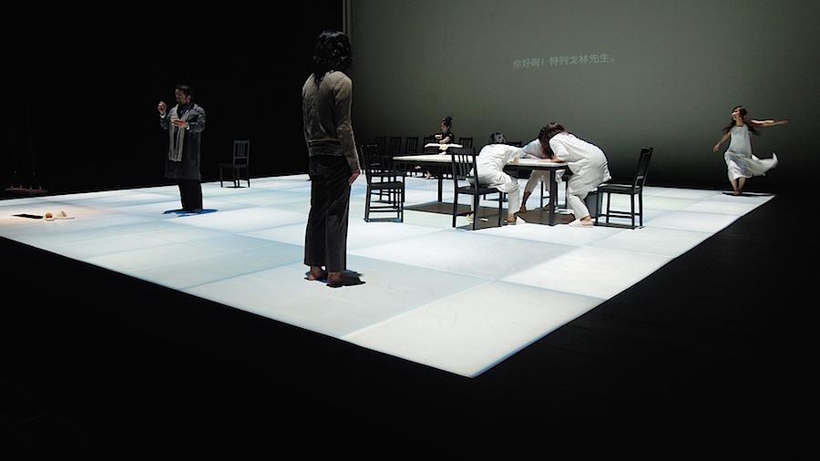 『かもめ』2014年 台湾公演より