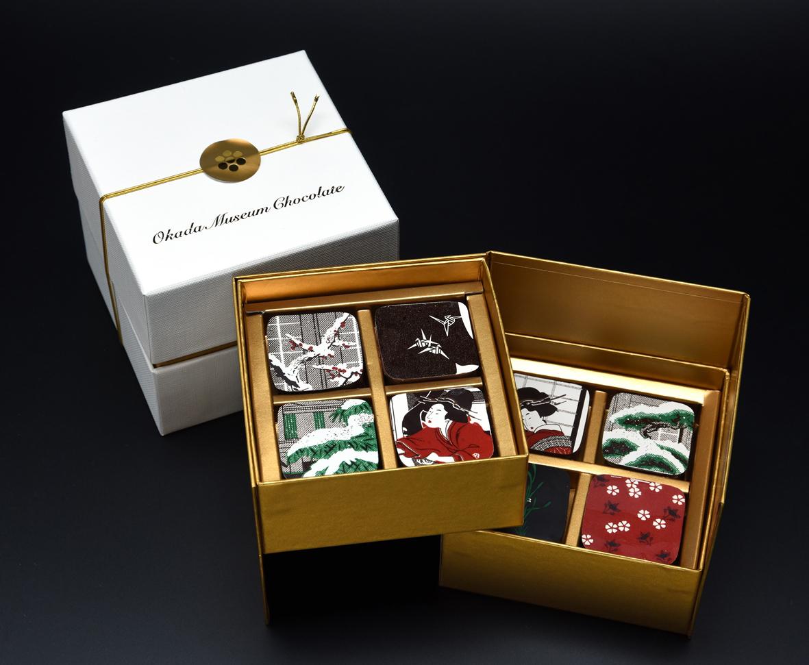 Okada Museum Chocolate 『歌麿・深川の雪』4,800 円(税込)