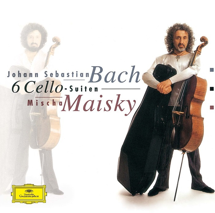 『J.S.バッハ:無伴奏チェロ組曲』ミッシャ・マイスキー ジャケット写真