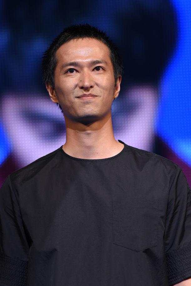 2017年8月、映画「HiGH&LOW THE MOVIE 2 / END OF SKY」の完成披露イベントに登壇した秋山真太郎。