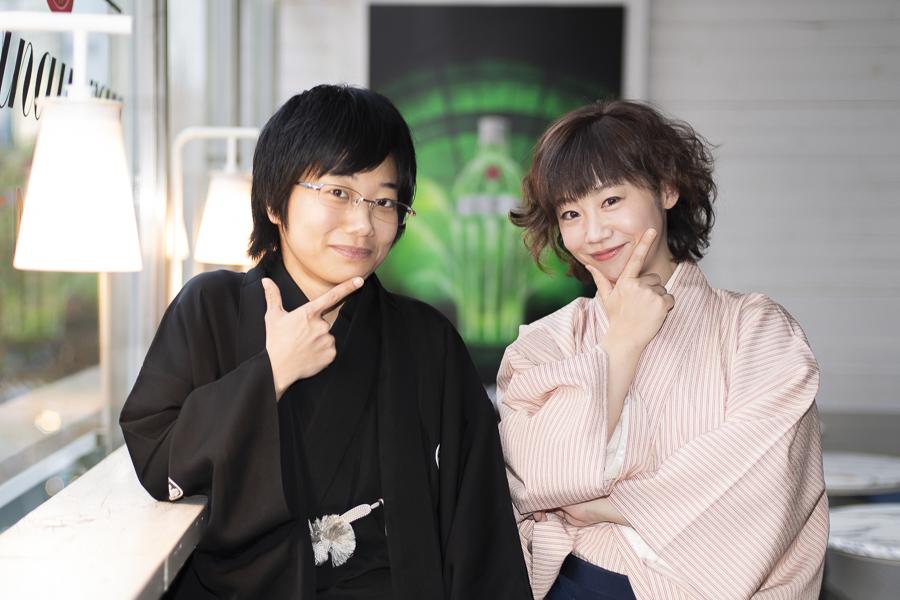 (左から)立川こはる、春風亭ぴっかり☆