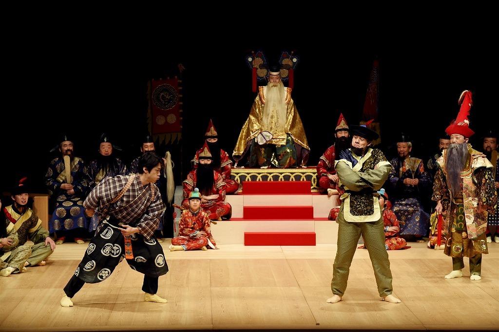劇場20周年記念公演 『唐人相撲』 撮影:細野晋司