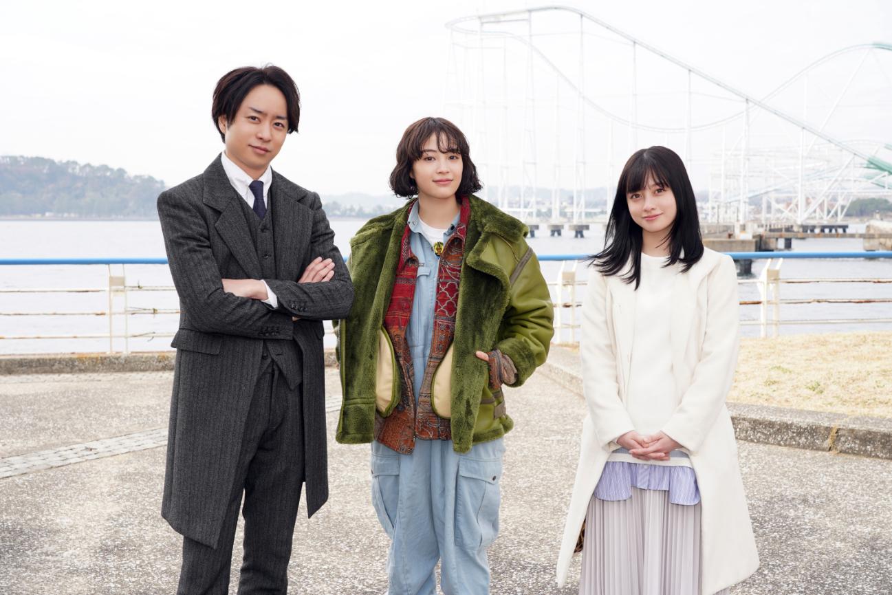 左から、櫻井翔、広瀬すず、橋本環奈 (C)日本テレビ