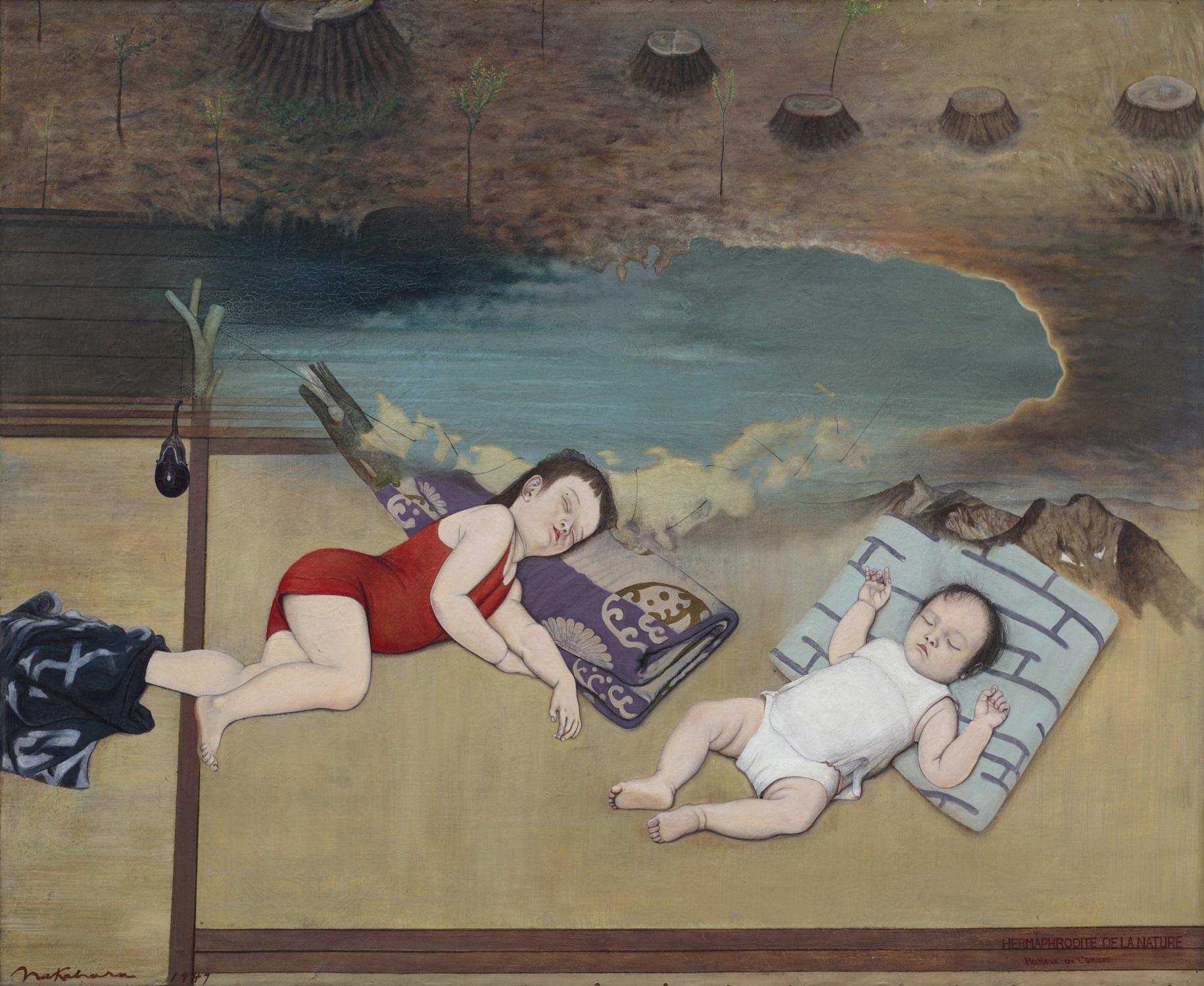 中原實《杉の子》1947