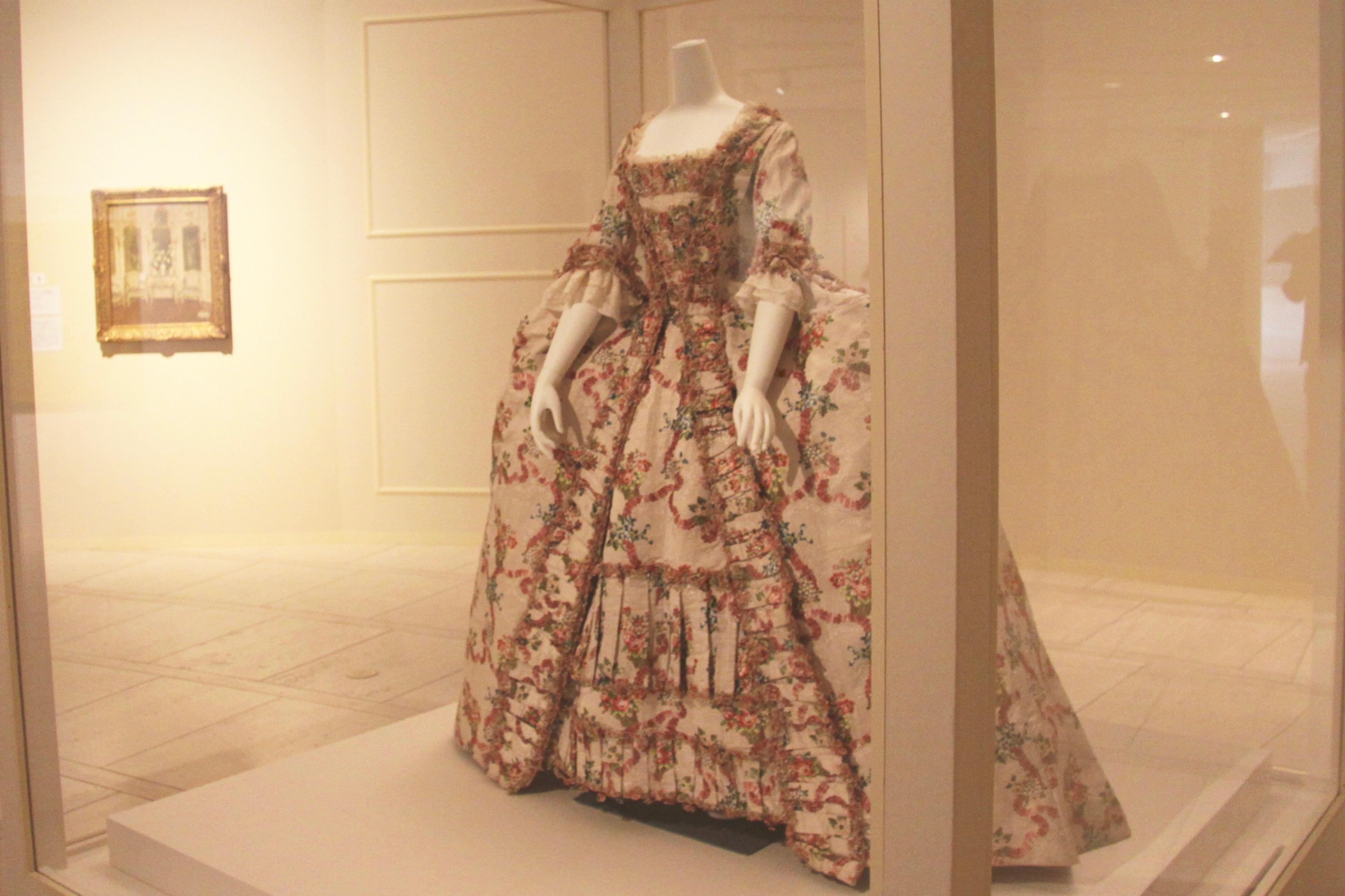 ドレス(3つのパーツからなる) フランス、1770年頃