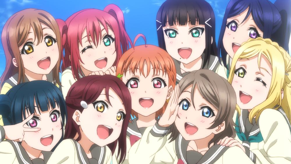 劇場版告知用のビジュアルが公開された(C) 2017 プロジェクトラブライブ!サンシャイン!!