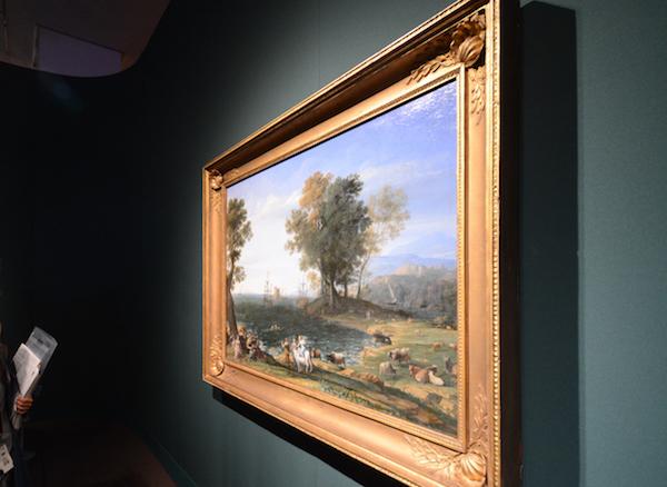 クロード・ロラン《エウロぺの略奪》1655年 (C)The Pushkin State Museum of Fine Arts, Moscow.
