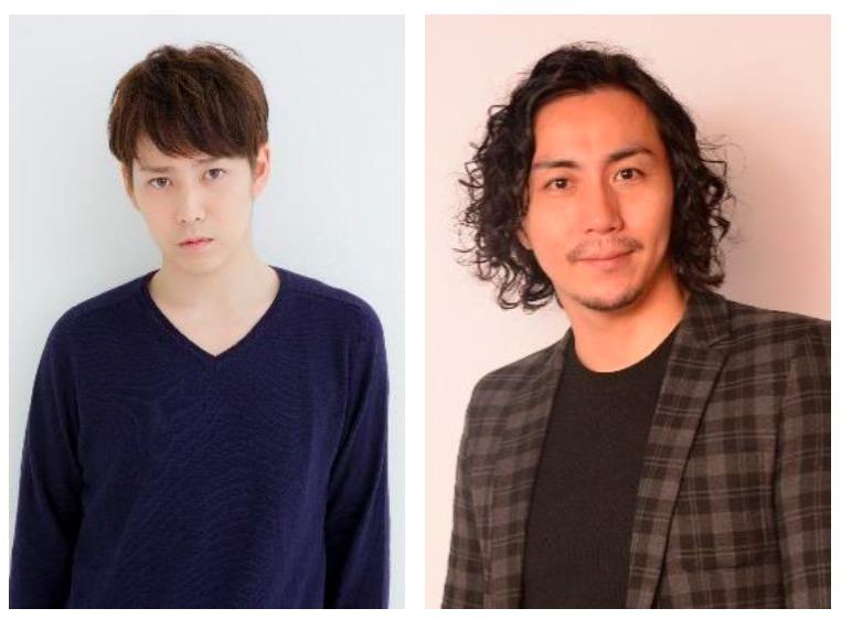 (左から)鎌苅健太、郷本直也