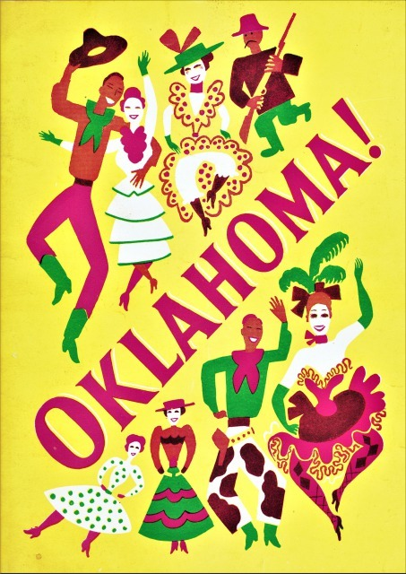 『オクラホマ!』初演のプログラム