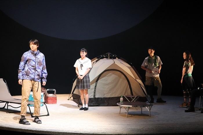 『終わりのない』ゲネプロ舞台写真