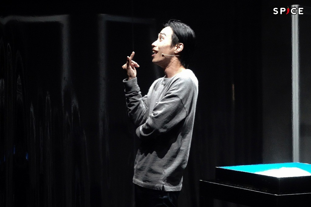舞台『YARNS』ゲネプロより 大山将司 撮影:岩田えり