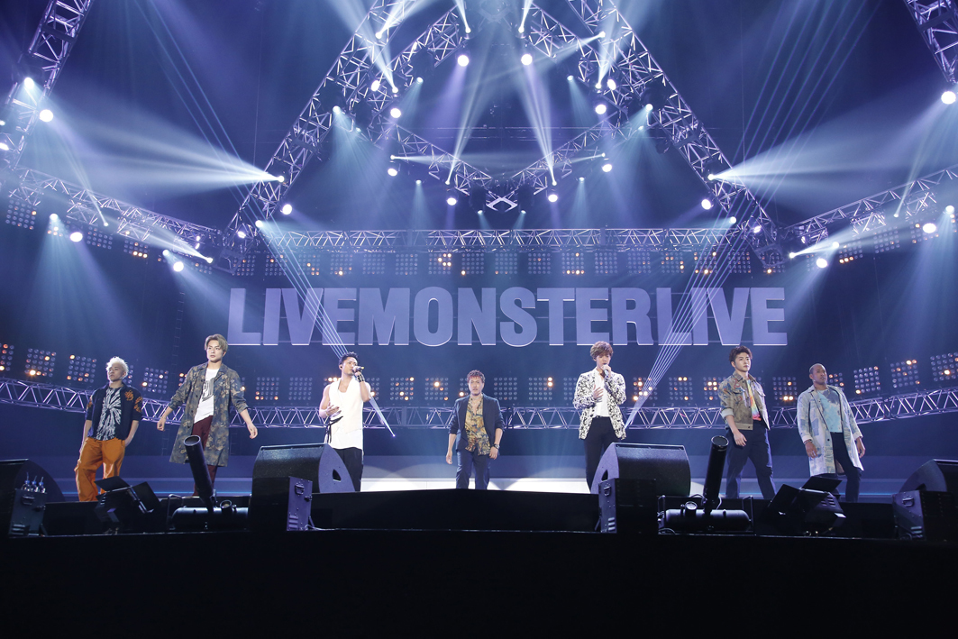GENERATIONS from EXILE TRIBE 『LIVE MONSTER LIVE 2017』 PHOTO:堀田芳香