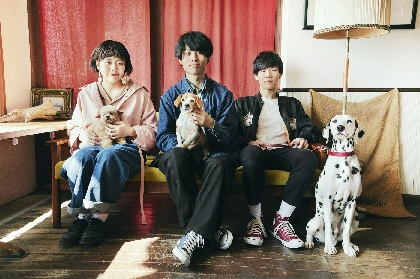 Saucy Dog 対バンツアー『ワンダフルツアー 2018』 SHE'S、WEAVERら全ゲストバンドを発表