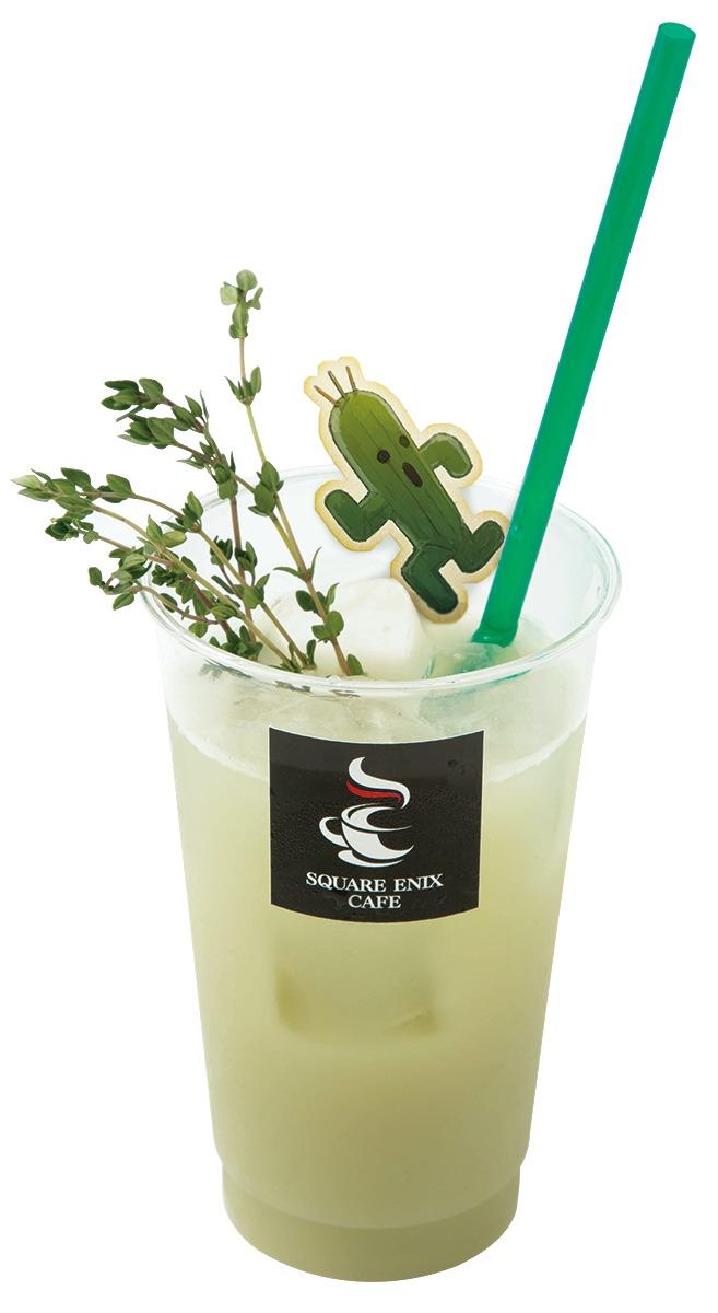 サボテンダー☆緑のカルピスソーダ☆