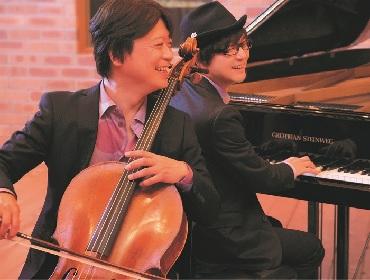 チェリスト柏木広樹とピアニスト光田健一によるユニット ・二人旅が新曲「雫 -shizuku-」をリリース 生配信ライブも開催