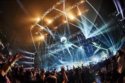 LUNA SEA、1年越しの結成30周年ライブでツアー再開を発表「俺たち全員でライブ会場は安全だってことを証明しましょう」