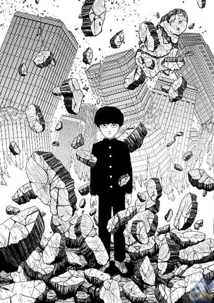 『ワンパンマン』原作・ONE氏の『モブサイコ100』がアニメ化