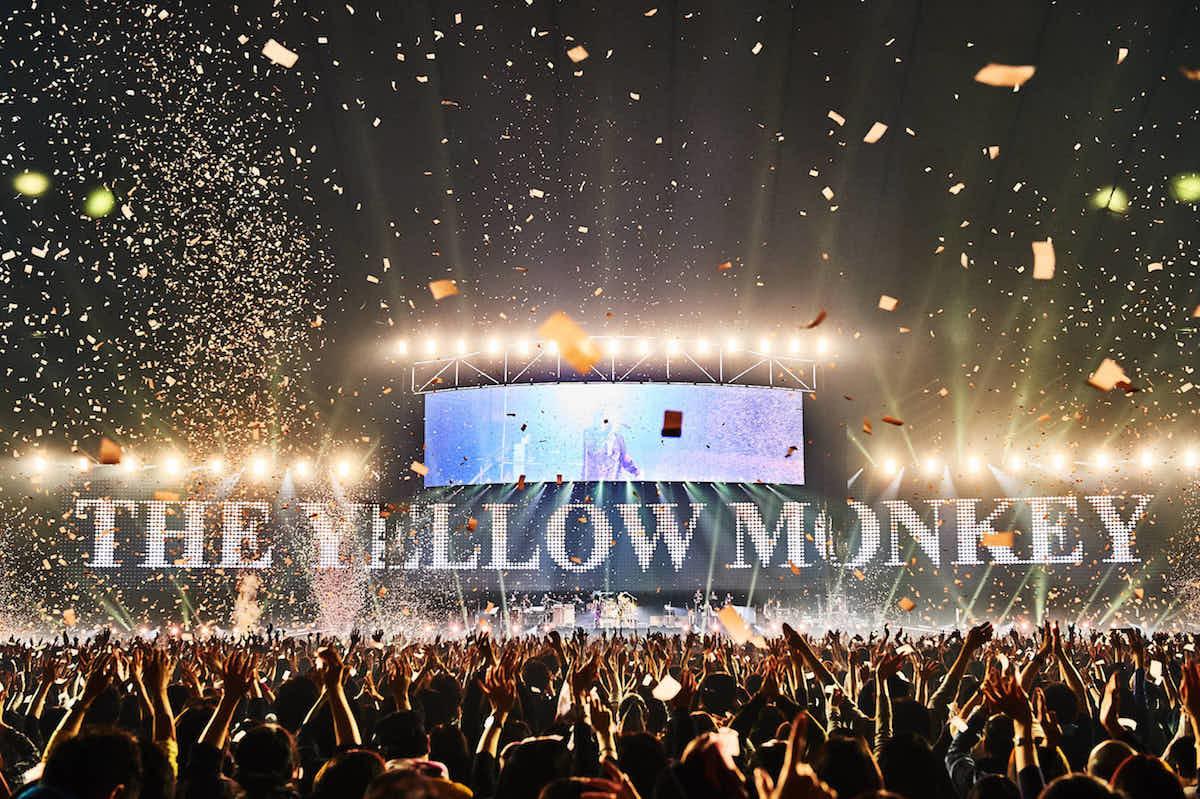 THE YELLOW MONKEY 撮影=KEIKO TANABE