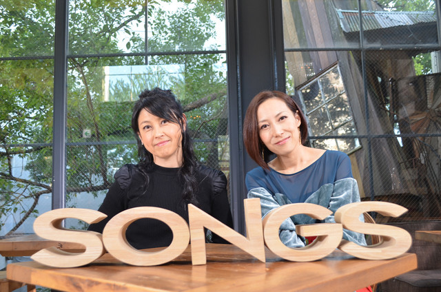 左から岸谷香、一青窈。(写真提供:NHK)