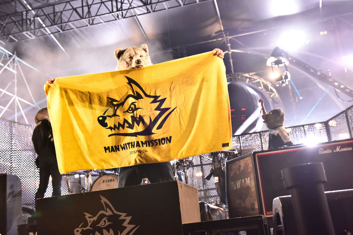 MAN WITH A MISSION  Photo by 古溪一道