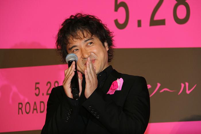 ムロツヨシといえば、舞台挨拶のマイクパフォーマンス!? 映画「ヒメアノ~ル」