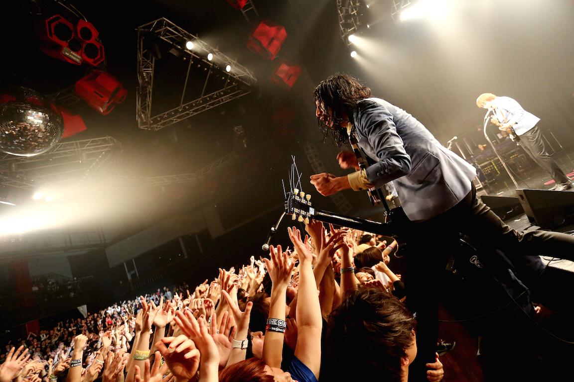 THE BAWDIES・JIM  Photo by 鈴木公平