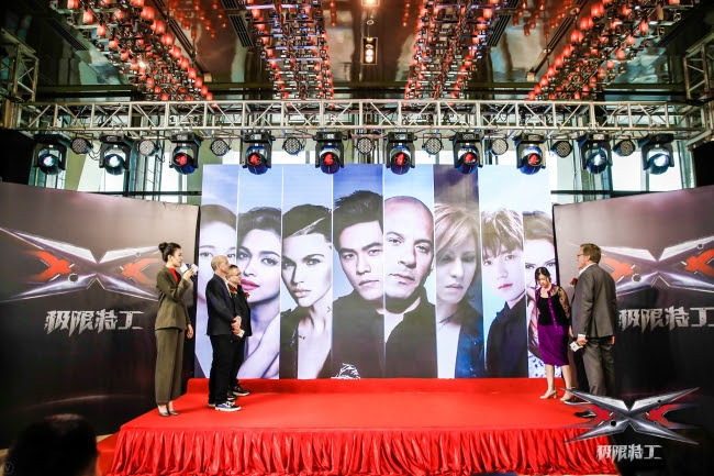 『xXx 4(原題)』上海でのThe H Collective社による記者会見より(2018年1月21日)
