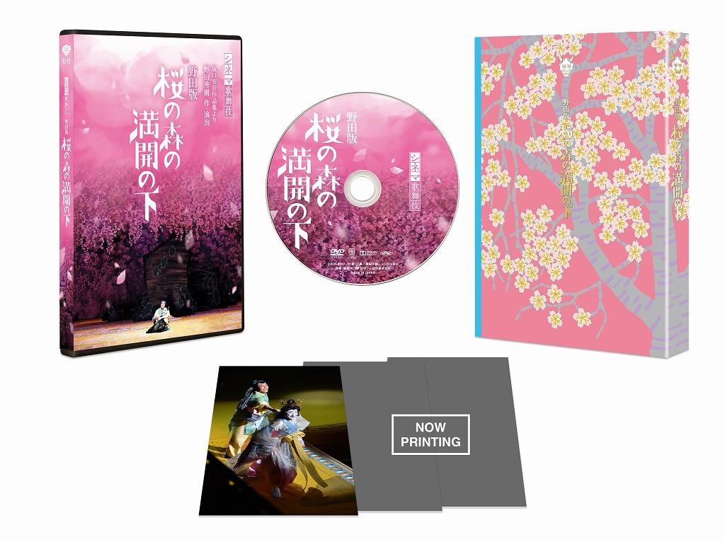 『野田版 桜の森の満開の下』DVD 展開図