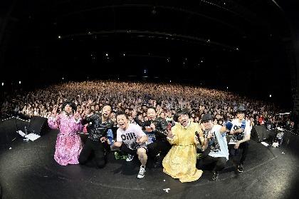 グループ魂、リクエスト曲を募集した3年振りのワンマンライブは音楽番組パロディ満載 爆笑ランキングが発表