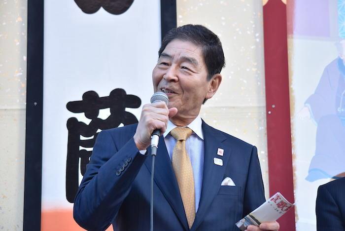服部征夫・台東区長