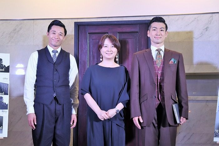 (左から)shoji、瀬戸山美咲、Oguri