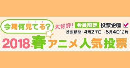 2018春アニメ『何見てる?』ランキングをdアニメストアが発表 『ガンゲイル・オンライン』が首位に