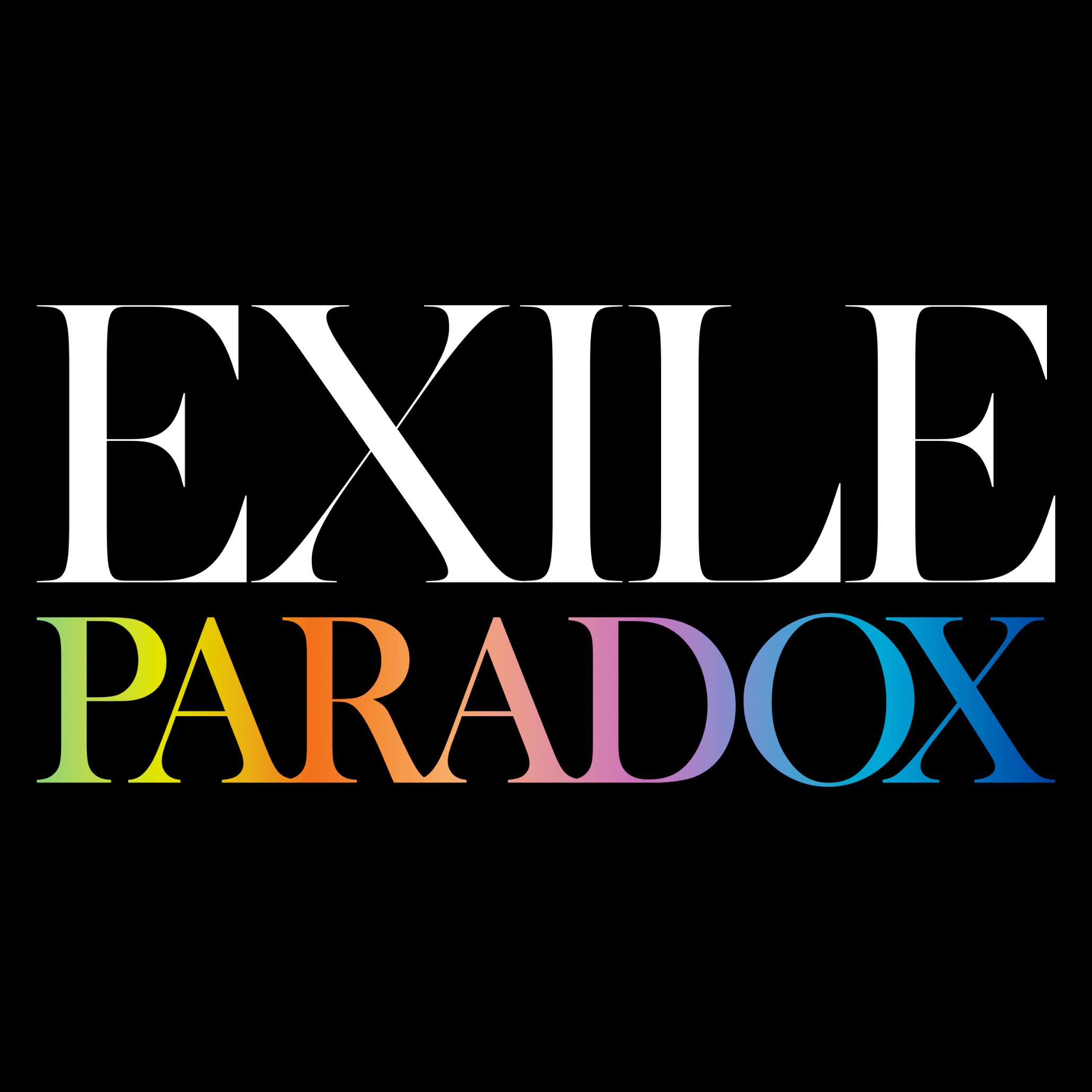 「PARADOX」配信ジャケット