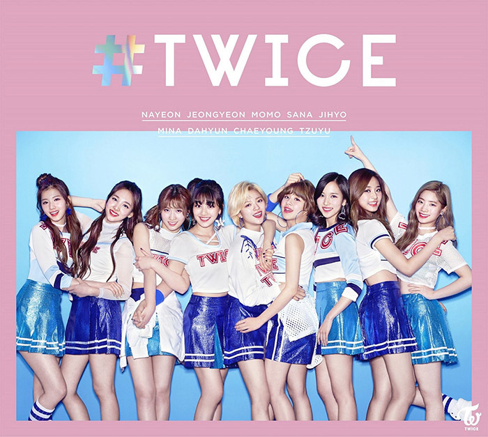 TWICE JAPAN DEBUT BEST ALBUM「 #TWICE 」