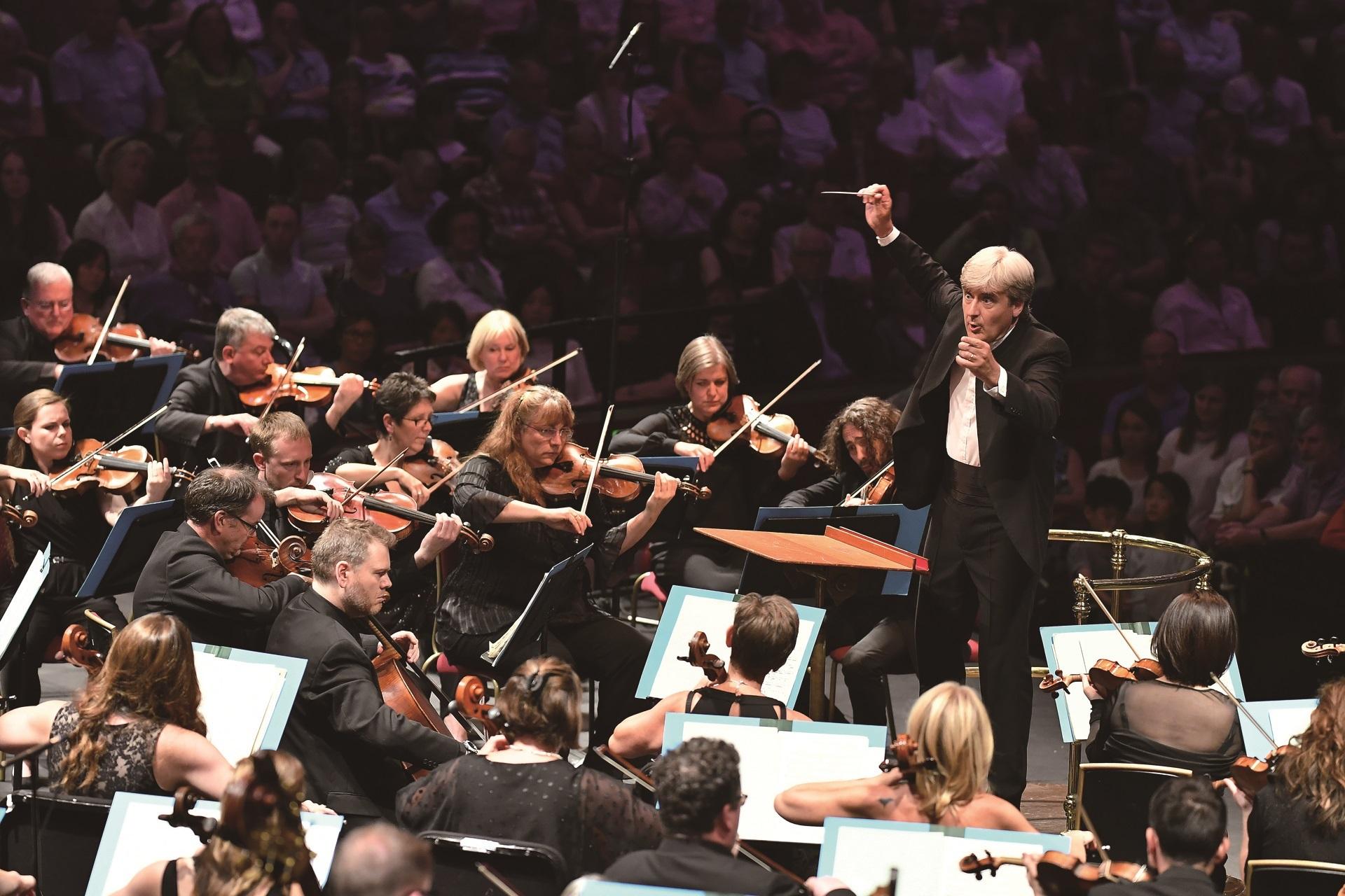 BBCスコティッシュ交響楽団/トーマス・ダウスゴー (C)BBC / Chris Christodoulou