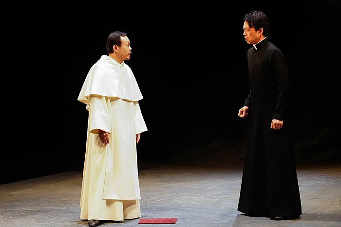 (左から)近藤芳正、神農直隆 撮影:宮川舞子