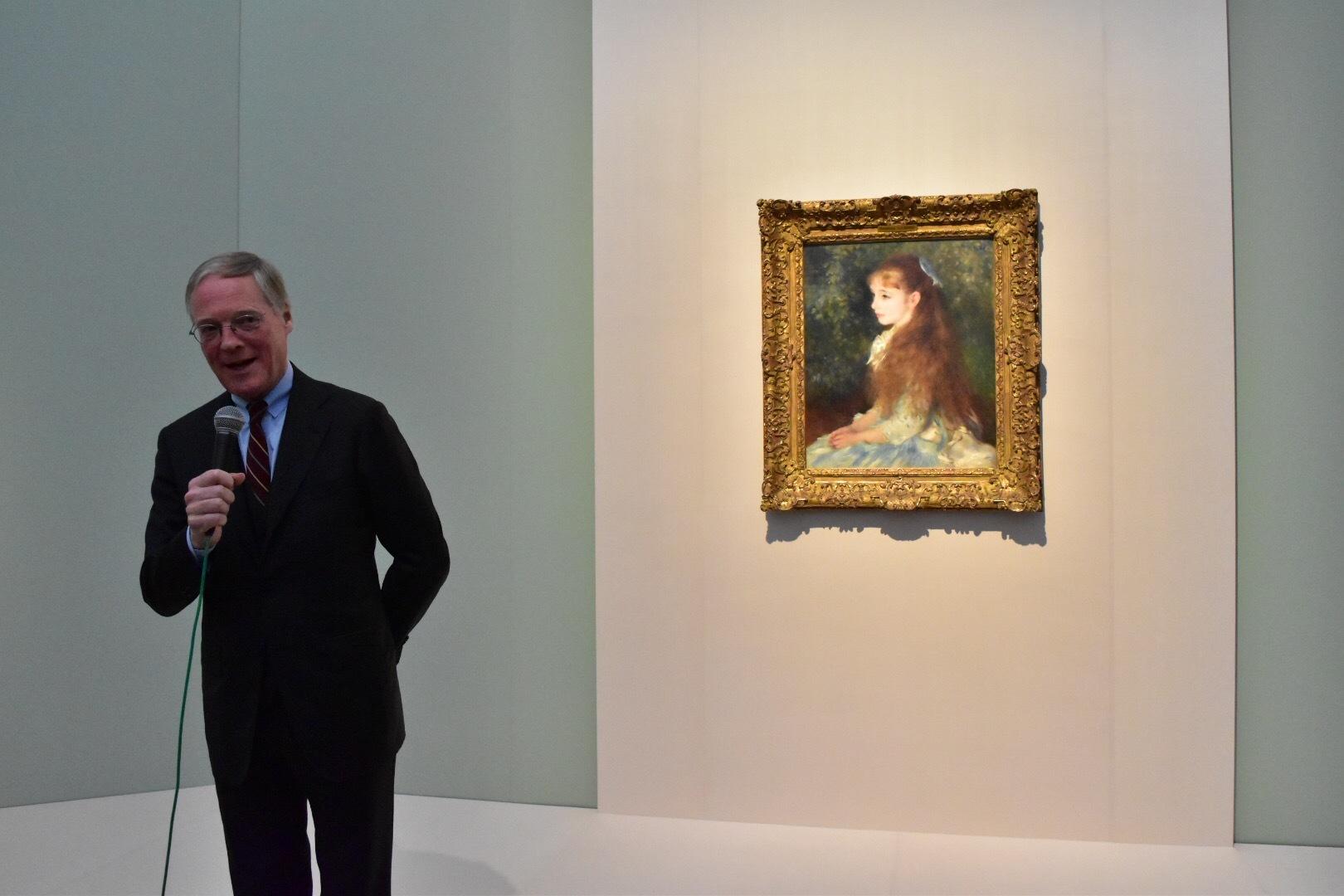 ピエール=オーギュスト・ルノワール 《イレーヌ・カーン・ダンヴェール嬢(可愛いイレーヌ)》 1880年