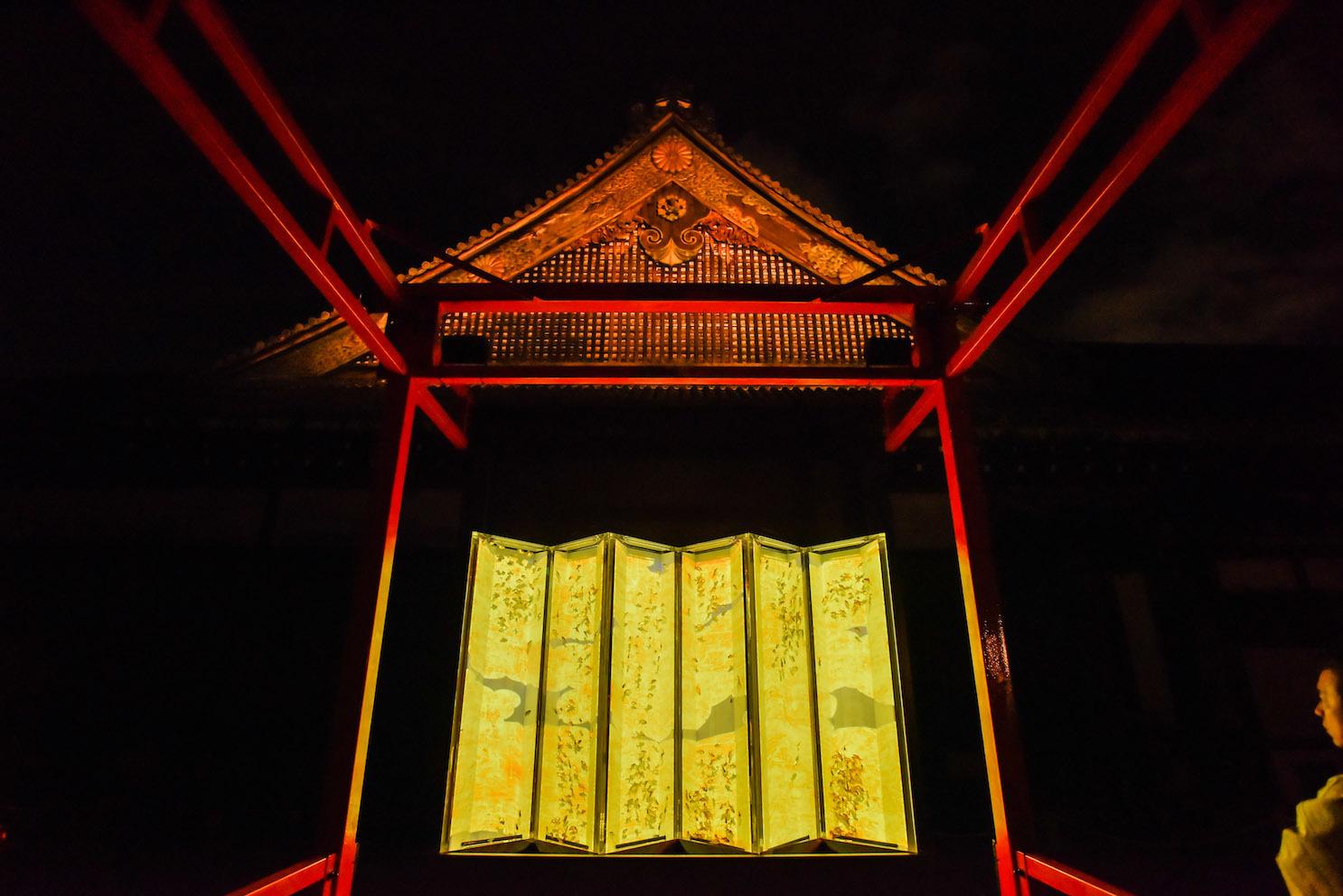 大政奉還150周年記念アートアクアリウム城