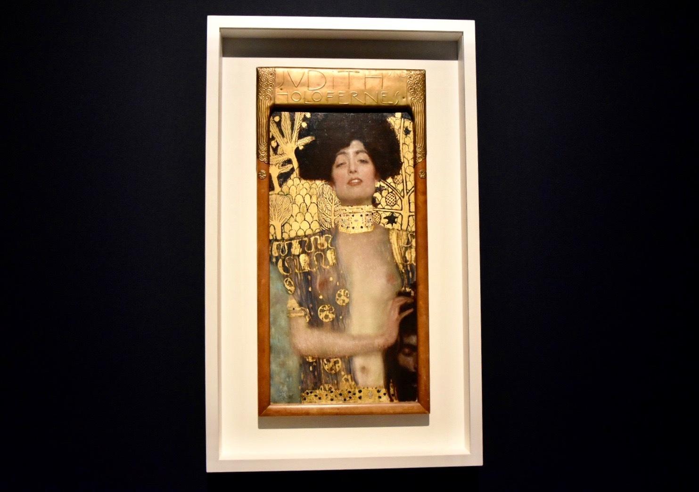 グスタフ・クリムト 《ユディトⅠ》 1901年 ベルヴェデーレ宮オーストリア絵画館蔵