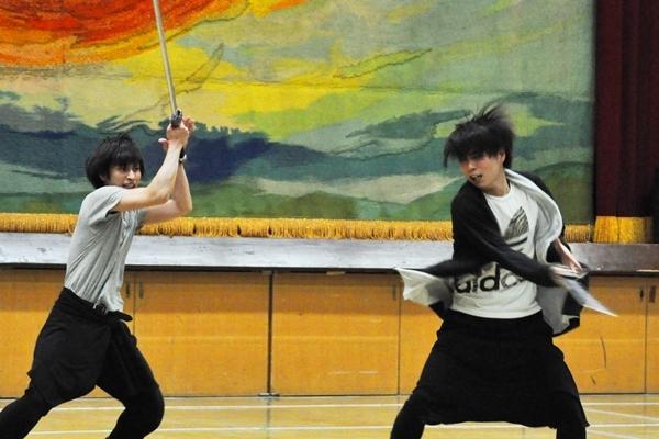 (左から)村川勁剛、松井勇歩