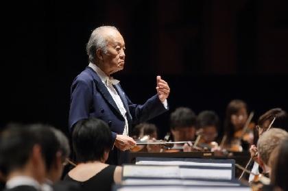 大阪交響楽団名誉指揮者に就任した外山雄三に聞く