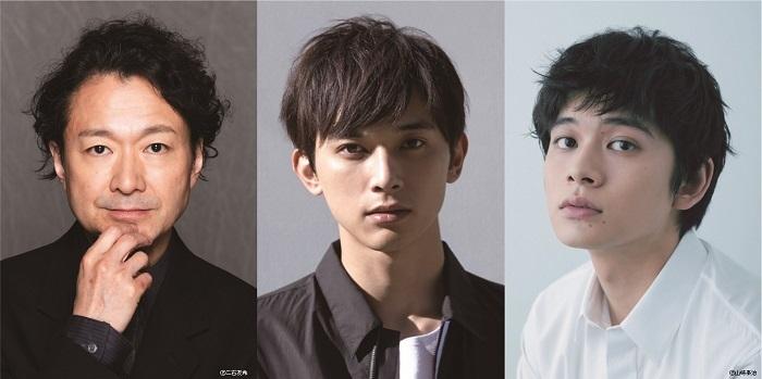 (左から)白井晃、吉沢亮、北村匠海