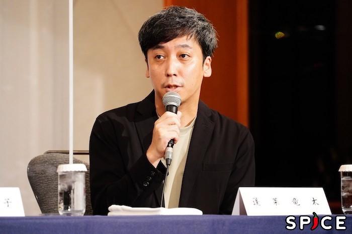 蓬莱竜太  オフィシャル撮影:田中亜紀