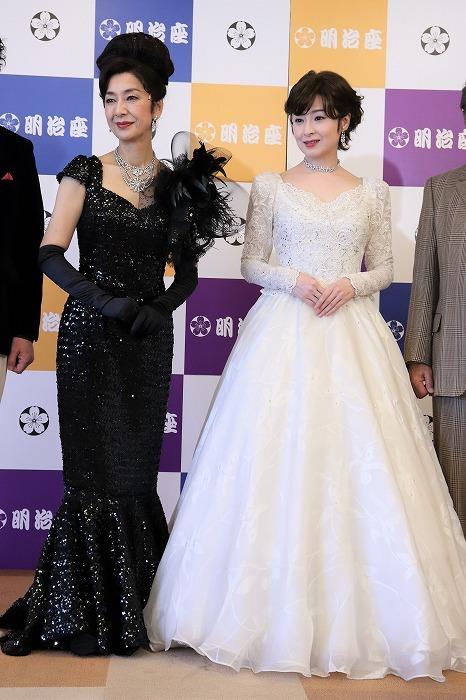 高橋惠子、檀れいのドレス姿に会見場からため息が!
