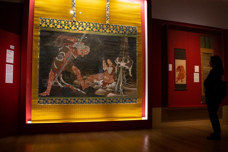 《弘法大師修法図》弘化年間(1844~47) 西新井大師總持寺 通期展示