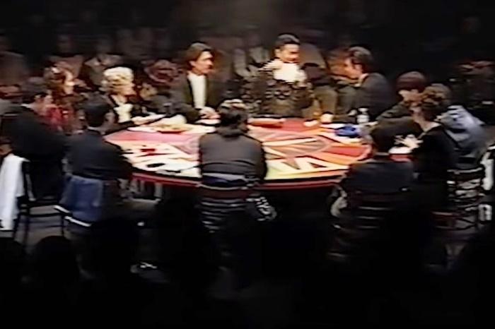 『12人のおかしな大阪人』1995年舞台(記録映像をキャプチャ)。