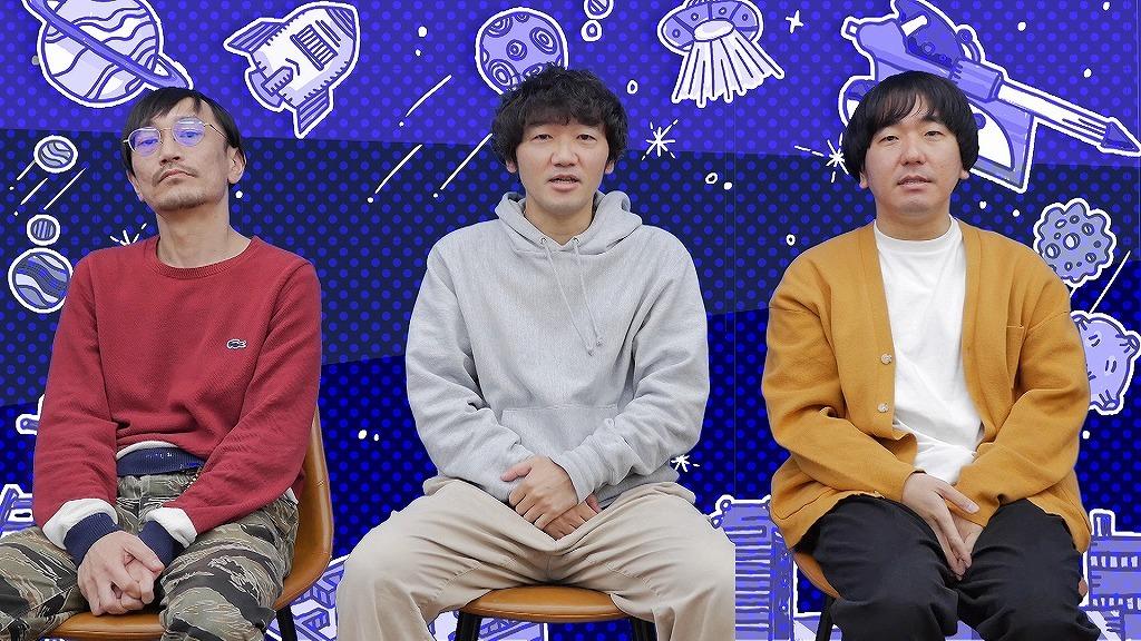 『企画性―』場面写真 (左から)中川晴樹、土佐一成、本多力